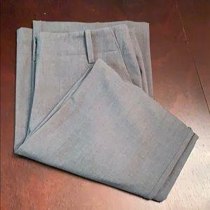 New York & Company Size 8 Tall Gray Slacks